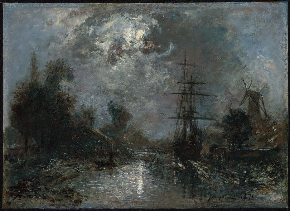 Harbor by Moonlight