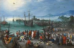 Harbor Scene with St. Paul's Departure from Caesarea