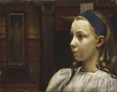 Head of a Girl, Little Anna