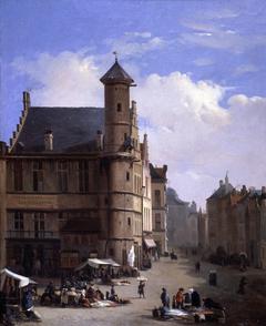 Het Toreken op de Vrijdagmarkt in Gent