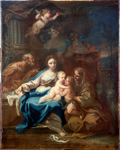 Holy Family with Saint Anne, the Baptist and Zacharia