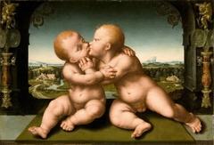 Holy Infants Embracing