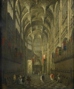 Interior of Henry VII's Chapel, Westminster Abbey