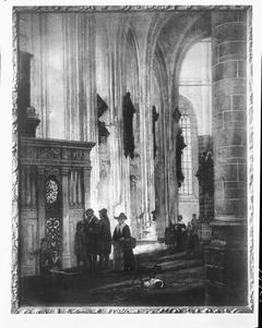 Interior of the Grote Kerk, Dordrecht