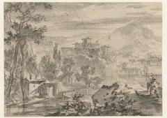 Italiaans landschap