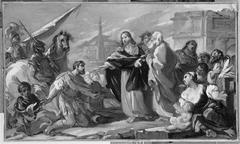 Jésus guérit le fils du centenier de Capharnaüm