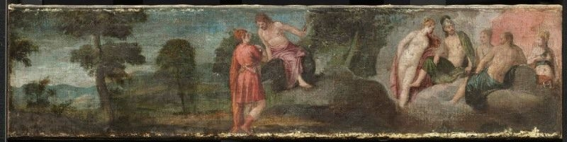 Jupiter with Gods and Goddesses on Olympus