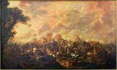 La défaite de Darius par Alexandre