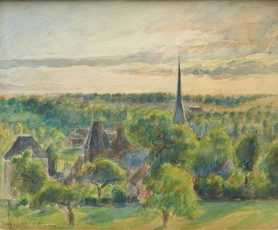 Landscape at Eragny