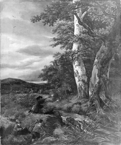 Landscape with a Hunting Scene