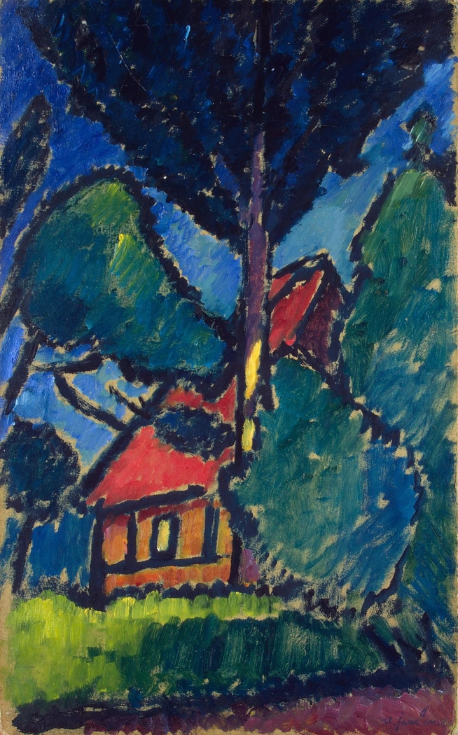 Landscape with Red House