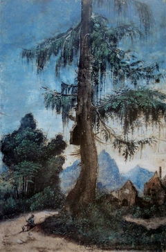 Landscape with Woodcutter