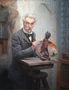 Le Sculpteur au travail