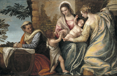 Madonna and Child with St. Elizabeth, the Infant St. John the Baptist