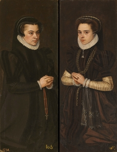 Margaret Duchess of Parma / Mary of Portugal Wife of Alessandro Farnesse