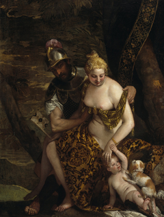 Mars and Venus with Cupid and a Dog