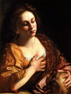 Mary Magdalene holding a Skull