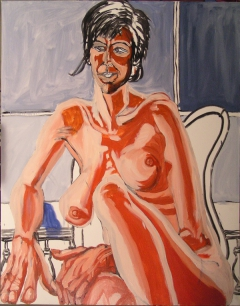 Melissa K. 2008; 48in X 38in; Oil on canvas; Steve Hendrickson