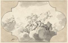 Mercurius ontsteelt Venus haar gordel