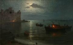 Moon light effect in Bayona