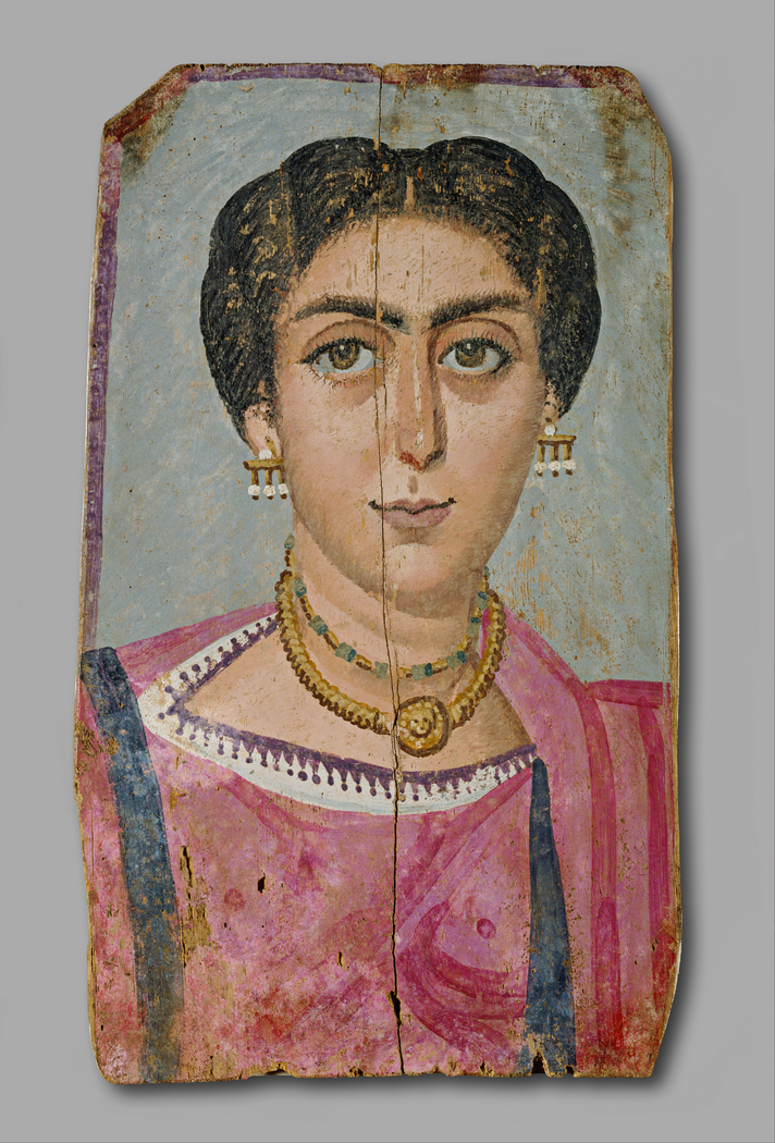 Mummy Portrait- Woman with Necklace