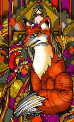 mushroom fox