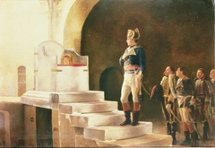 Napoleon in Aix-la-Chapelle, in Front of Charlemagne's Throne