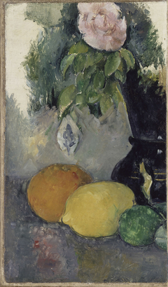 Nature morte, rose et fruits (Flowers and Fruits)