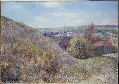 On the Hills of Moret in the Spring - Morning