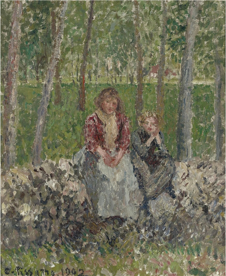 Peasant Women under the Trees at Moret