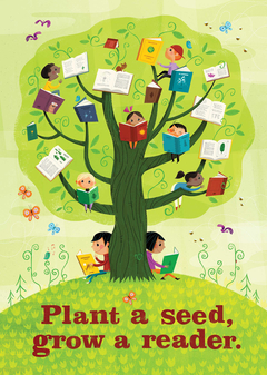 Plant a seed, grow a reader.