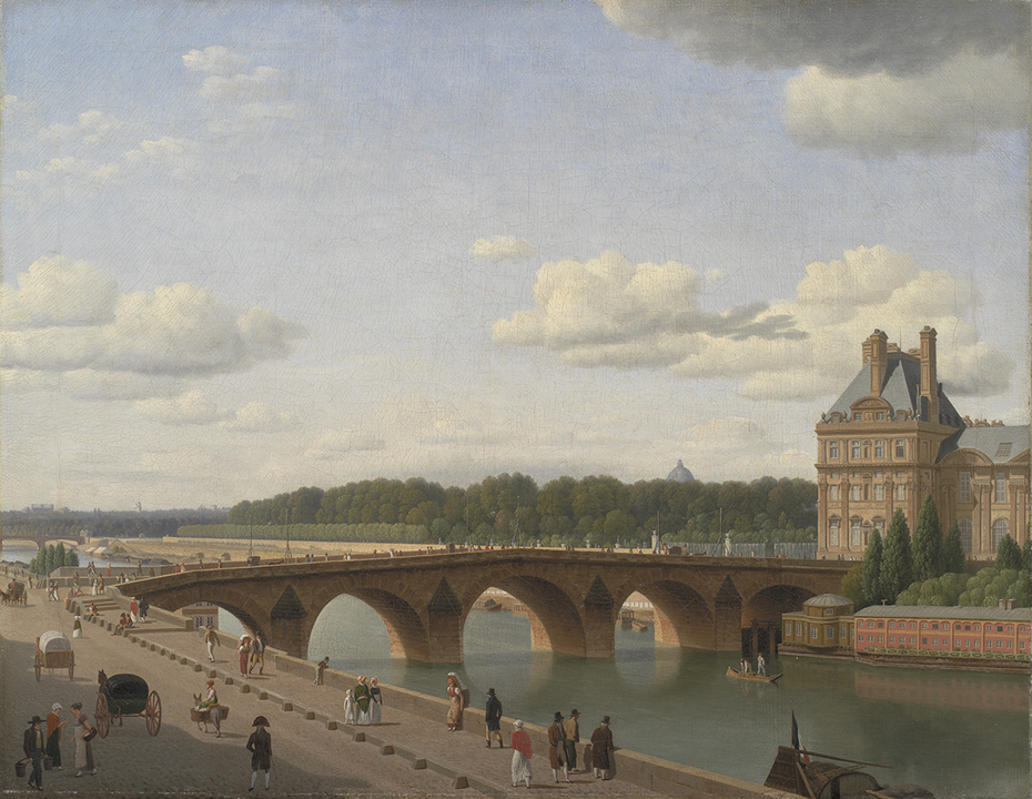 Pont Royal seen from Quai Voltaire