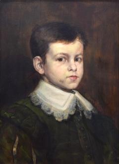 Portrait of a Boy in Van Dyck Costume