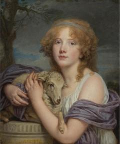 Portrait of a Girl with a Lamb, L'Amitié