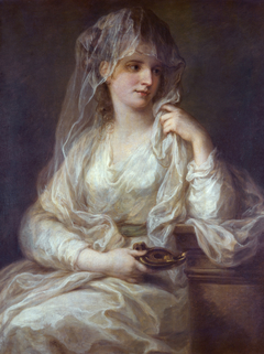 Portrait of a lady as Vestal Virgin