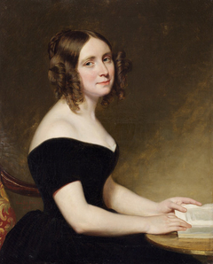 Portrait of a Lady in a Black Gown