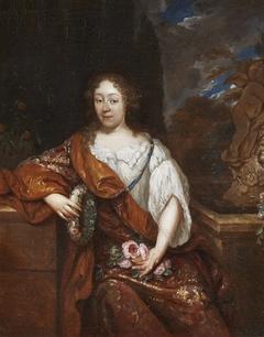Portrait of a Lady in a Garden