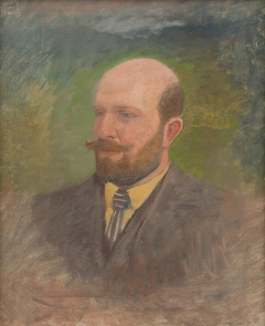 Portrait of a Man with a Tie