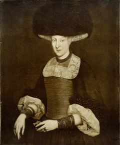 Portrait of a Richly Dressed Young Woman