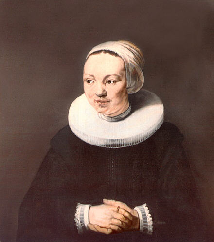 Portrait of a woman formerly called Adriaantje Hollaer