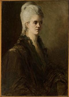Portrait of a woman – Mrs. Zarewicz (?)