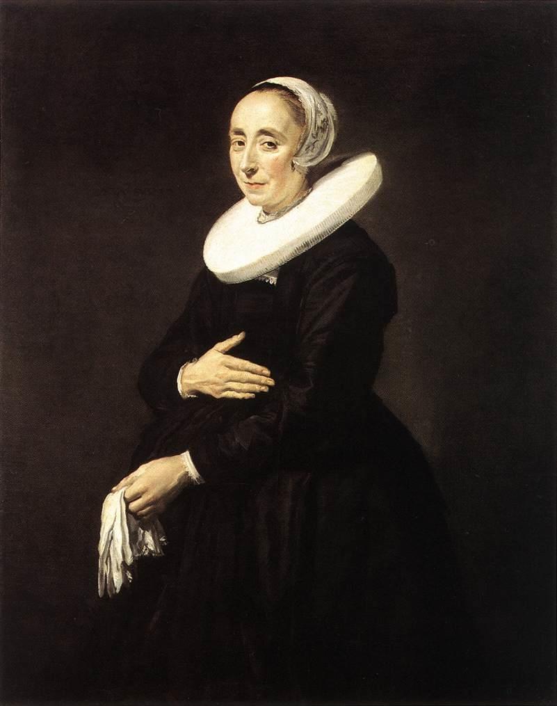 Portrait of a woman, possibly Cornelia van der Meer