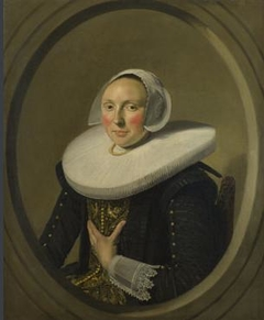 Portrait of a woman, possibly Maria Larp