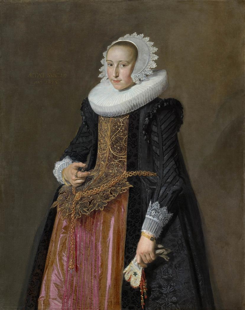 Portrait of Aletta Hanemans (1606–1653)