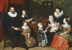 Portrait of Anthony Reyniers and His Family