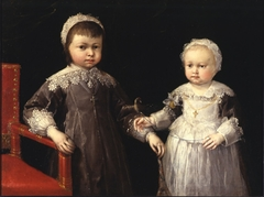 Portrait of Carlo Emanuele II with his sister Margherita Yolanda of Savoy