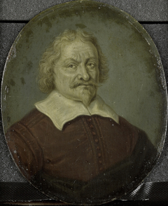 Portrait of David Lingelbach I, Founder of the  Nieuwe Doolhof (New Labyringh), Amsterdam