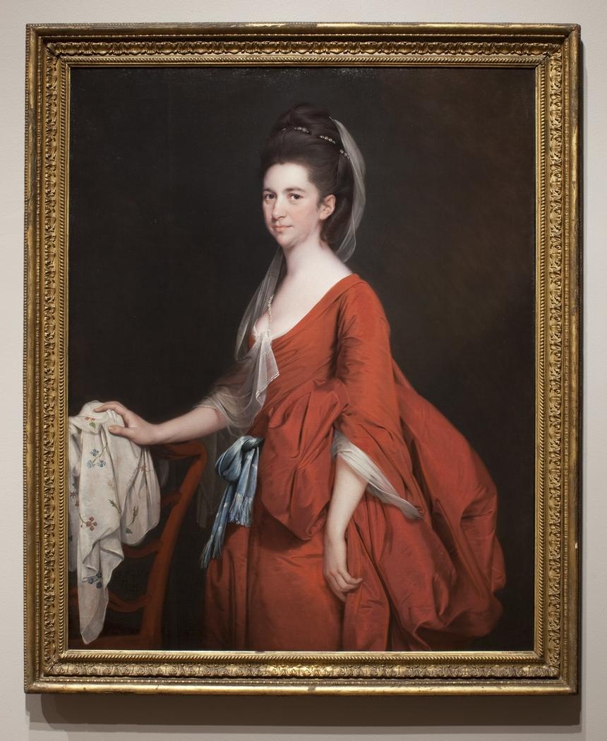 Portrait of Dorothy Beridge, ne Gladwin (1760-1792)