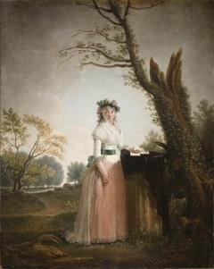 Portrait of Eleonora Chigi, Princess of Teano