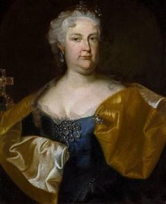 Portrait of Empress Elisabeth Christine of Brunswick.